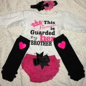 Other - Big Brother outfit. Leg warmers. Head band.